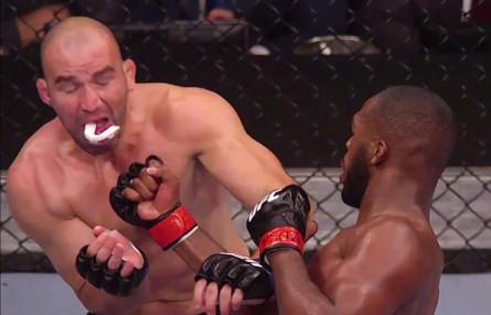 Jones levou a melhor sobre Glover no UFC 172. Foto: Reprodução/YouTube