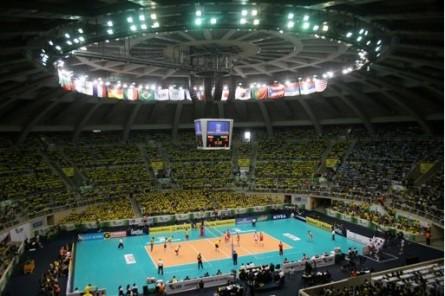 Maracanãzinho é tradicional palco do vôlei e do basquete no Brasil. Foto: CBV/Divulgação