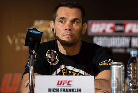 R. Franklin (foto) foi derrotado por A. Silva em 2006 e na revanche em 2007. Foto: Josh Hedges/UFC