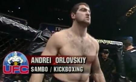 A. Arlovski durante sua estreia no UFC. Foto: Reprodução/UFC.com
