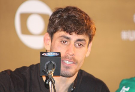 C. de Sapato (foto) foi o campeão do TUF entre os pesados. Foto: Lucas Carrano/SUPER LUTAS