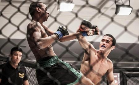 Caique Costa (dir.) é o primeiro atleta confirmado no GP dos galos. Foto: Pedro de Souza/Imperium MMA