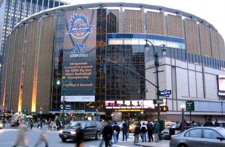 Sonho do UFC de promover um evento no Madson Square Garden (foto) foi novamente adiado. Foto: Divulgação