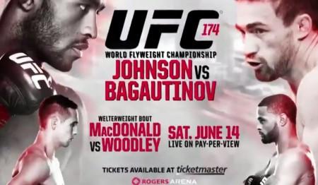 UFC 174 acontece neste sábado (14), no Canadá . Foto: Divulgação