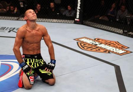 Cerrone (foto) venceu na luta principal do UFC Fight Night 45. Foto: Divulgação/UFC