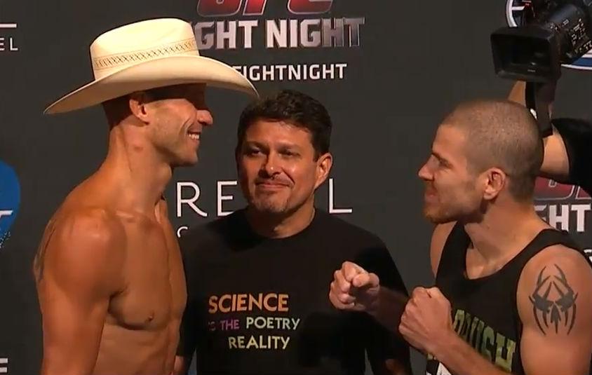 Lutadores batem o peso sem problemas e confirmam lutas no UFC Fight Night 45. Veja!