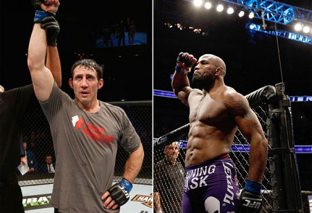 Kennedy (esq.) e Romero (dir.) se enfrentam em setembro. Foto: Produção MMA Press (Divulgação/UFC)