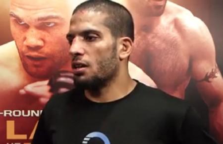 N. Lahat (foto) em entrevista após o UFC on FOX 12. Foto: Reprodução
