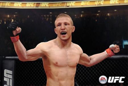 Dillashaw finalmente vai dar as caras no EA Sports UFC. Foto: Divulgação/EA