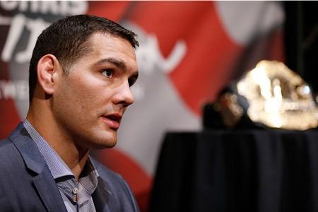 Weidman (foto) é o campeão dos médios do UFC. Foto: Josh Hedges/Zuffa LLC
