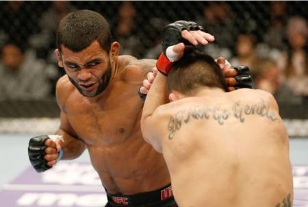 Wolverine (foto) sofreu sua segunda derrota no MMA. Foto: Divulgação/UFC