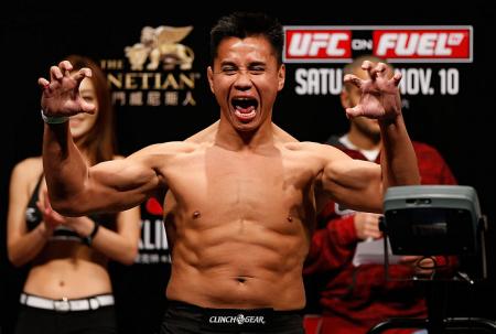 C. Le (foto) se disse inocente após ser flagrado no doping. Foto: Josh Hedges/UFC