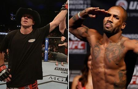 Cerrone (esq.) e Green (dir.) fazem a segunda luta mais importante do UFC 178. Foto: Produção SUPER LUTAS (UFC/Divulgação)