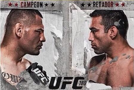 Velasquez (esq.) e Werdum (dir.) se enfrentarão no México. Foto: Divulgação/UFC