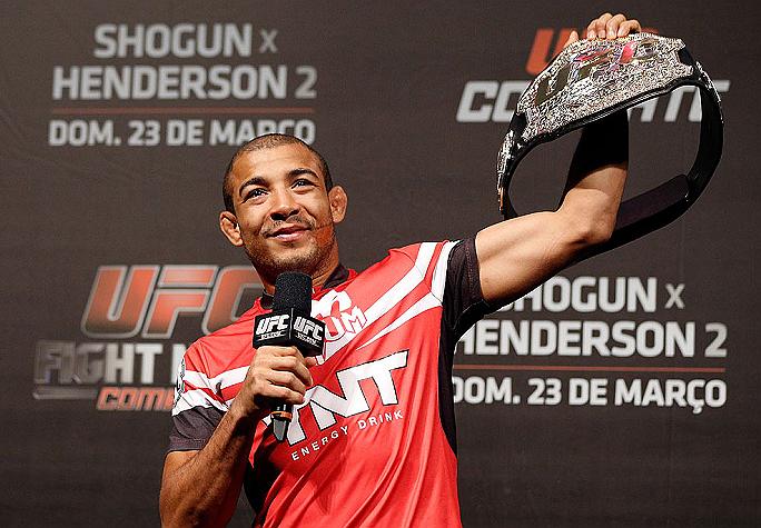Aldo (foto) enfrentará Mendes em outubro. Foto: Josh Hedges/Zuffa LLC