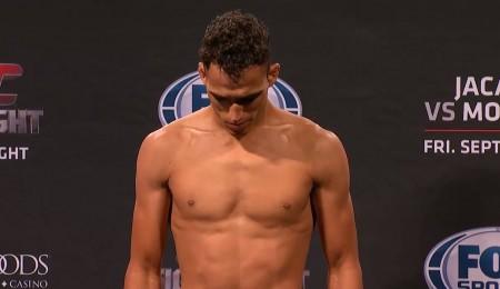 Do Bronx (foto) não bateu o peso para o UFC FN 50. Foto: Reprodução/YouTube