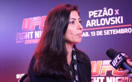 Grace Tourinho revelou planos do UFC para o Brasil em 2015. Foto: Lucas Carrano/SUPER LUTAS