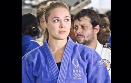 Ronda (foto) participou de evento de judô no Rio. Foto: Reprodução/Instagram