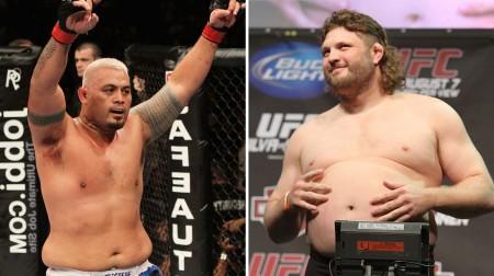 Hunt x Nelson, a luta principal do UFC Japão. Foto: Produção SUPER LUTAS (Divulgação/UFC)