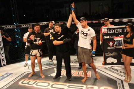 Andre Tadeu venceu a luta principal do WOCS 38