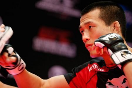 Coreano ficará afastado do MMA pelo menos até 2016. Foto: Josh Hedges/Zuffa LLC