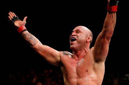 Wand (foto) está aposentado do MMA desde setembro. Foto: Josh Hedges/UFC
