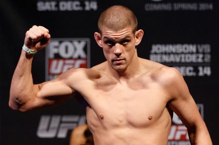J. Lauzon é a mais nova baixa do UFC 180. Foto: Josh Hedges/UFC