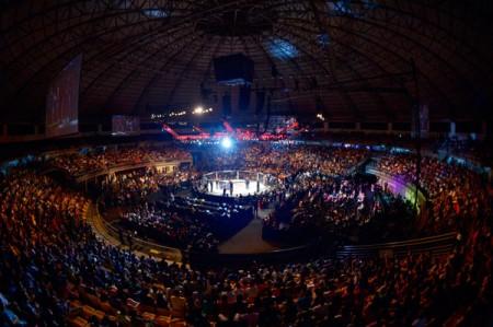 UFC agitou a cidade de Uberândia no UFC Fight Night 56. Foto: Inovafoto
