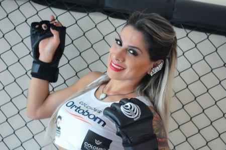 Vencedora do BBB 14, Vanessa Mesquita irá apresentar as lutas no Jungle Fight pela terceira vez. Foto: Caio  Duran