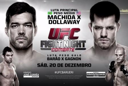 Lyoto e Barão fazem, respectivamente, a luta principal e co-principal do UFC Barueri. Foto: Reprodução
