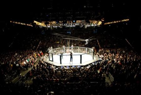 Na segunda parte do especial, o octógono do UFC segue desbravando o mundo. Foto: Divulgação