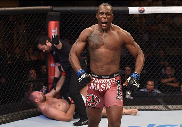 St. Preux será o novo adversário de J. Jones no UFC 197. Foto: Buda Mendes/UFC