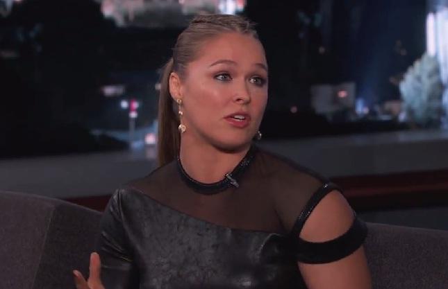 """Ronda falou sobre """"homenagem"""" de Eminem na TV norte-americana. Foto: Reprodução"""