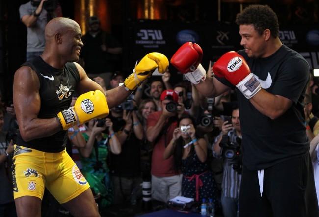 A. Silva (esq.) e Ronaldo (dir.) foram parceiros por mais de três anos. Foto: Josh Hedges/UFC