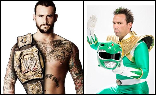 J. Frank, o Power Ranger verde, se oferece para lutar contra CM Punk