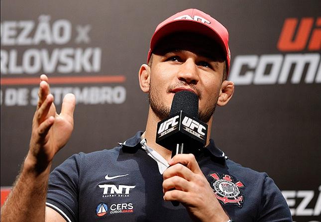 J. Cigano (foto) é o segundo colocado no ranking dos pesos pesados. Foto: Josh Hedges/UFC
