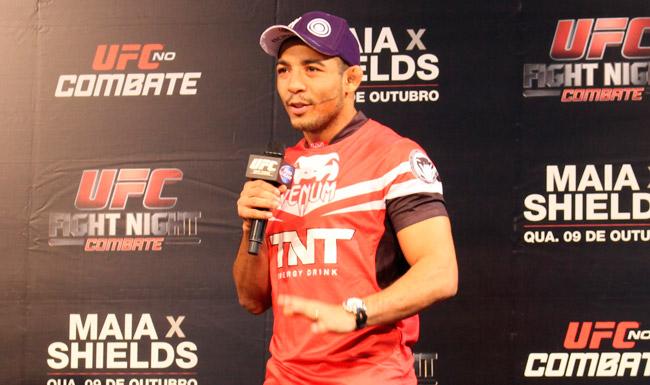J. Aldo terá conversa com dirigentes do UFC para melhora de salários. Foto: Lucas Carrano/SUPER LUTAS