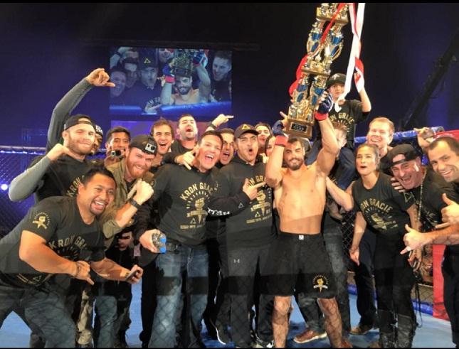 Filho de Rickson, Kron Gracie estreia no MMA com vitória por finalização. Assista!