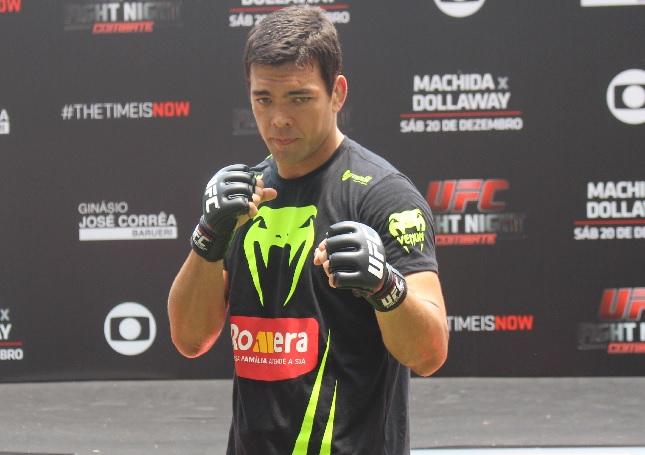 Lyoto (foto) faz sua segunda luta no Brasil em 2014. Foto: Lucas Carrano/SUPER LUTAS