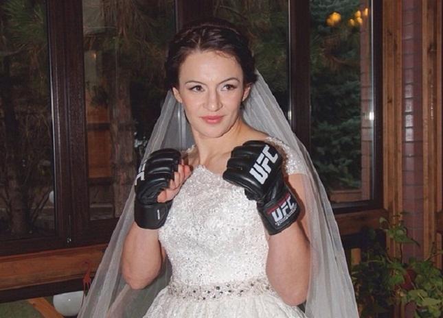 Milana levou seu amor ao MMA para o altar. Foto: Reprodução/Instagram