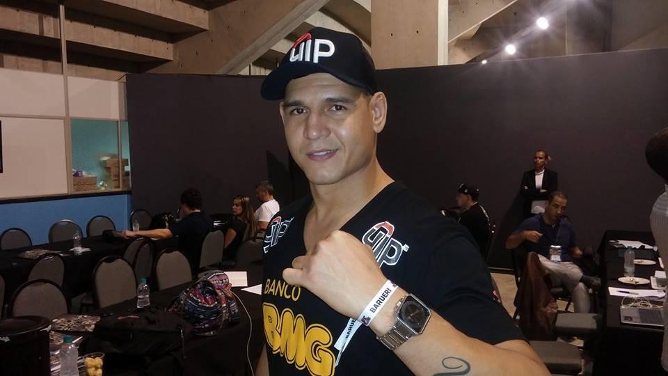 Mutante (foto) tem quatro vitórias e uma derrota no UFC. Foto: Lucas Carrano/SUPER LUTAS