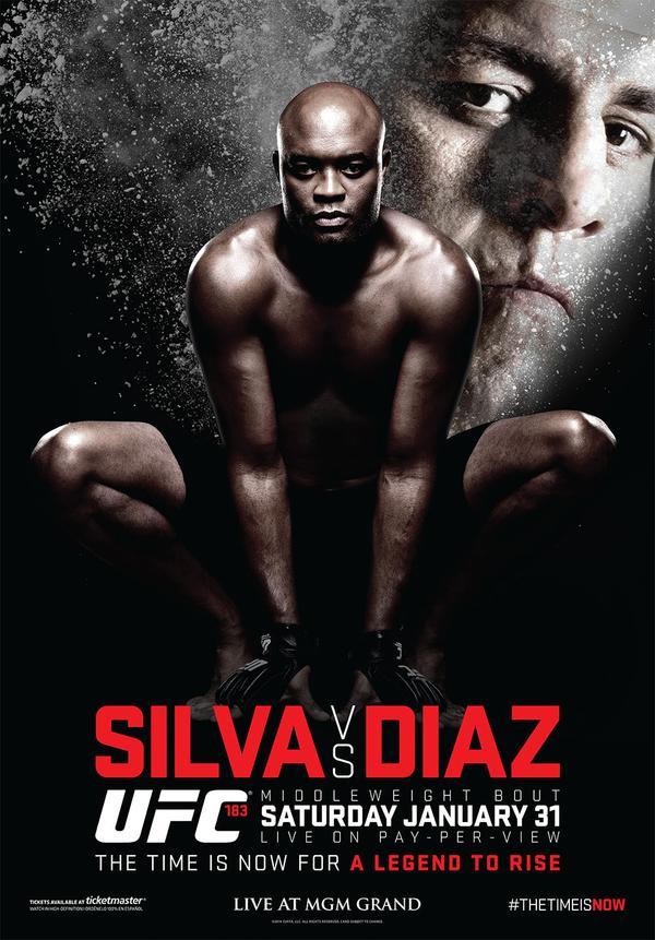 Poster UFC 183