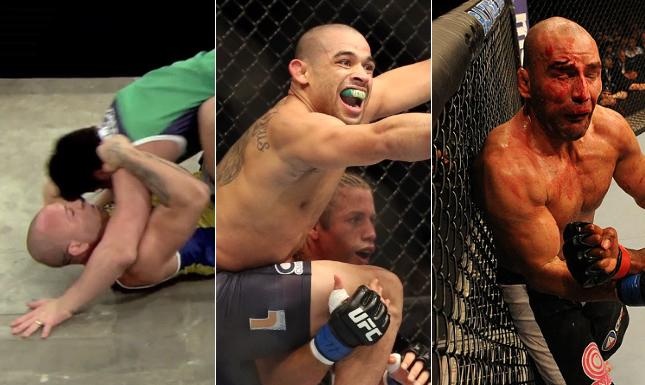 Briga de Sonnen com Wand, Barão e Glover foram destaques nos primeiros meses de 2014. Foto: Produção MMA Press (Divulgação/UFC)