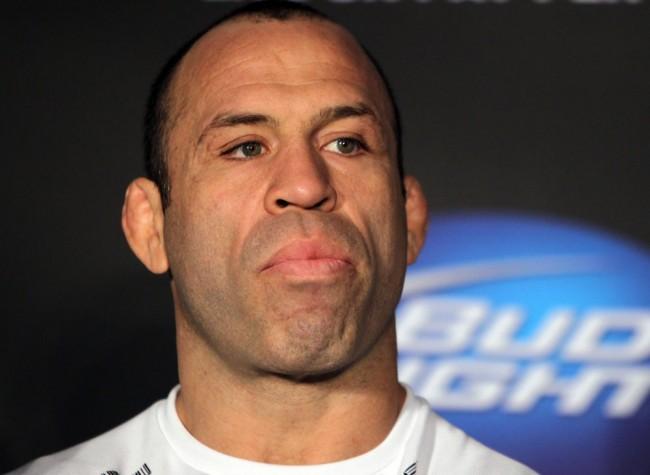 Wand (foto) prestou homenagem a Kimbo. Foto: Josh Hedges/UFC