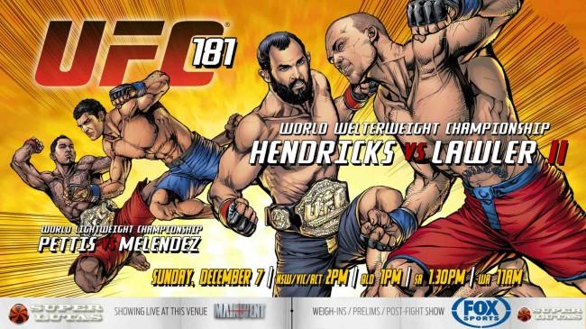 UFC 181 foi pauta do PODCAST SUPER LUTAS.