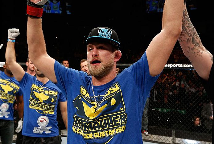 Gustafsson (foto) disputará o cinturão contra Cormier. Foto: Divulgação/UFC