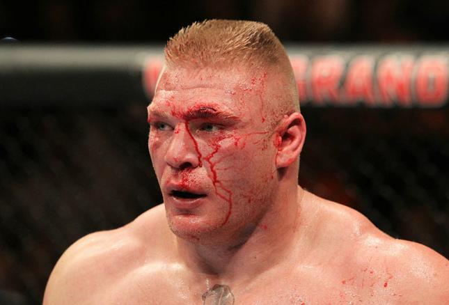 Lesnar (foto) foi campeão do UFC entre 2008 e 2010. Foto: Divulgação/UFC