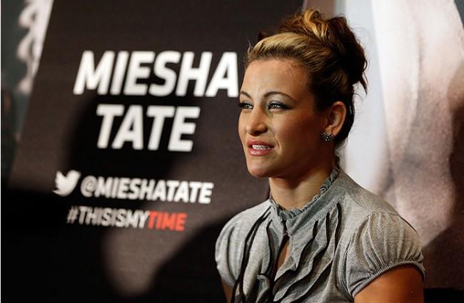 Tate (foto) criticou Bethe. Foto: Divulgação/UFC
