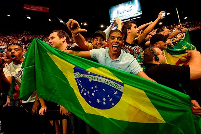 UFC retornou ao Brasil em 2011 e fincou bandeira no país. Foto: Divulgação