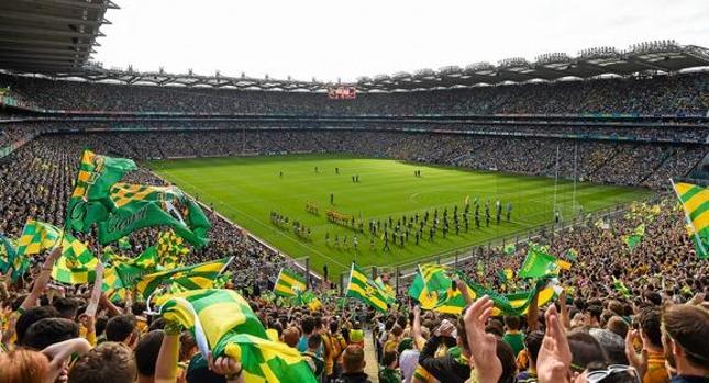 O Croke Park é o maior estádio da Irlanda. Foto: Reprodução/Twitter